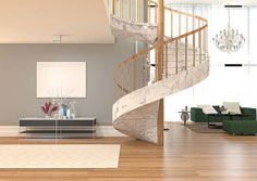 Spiral Staircase Fitters Barrhead Scotland